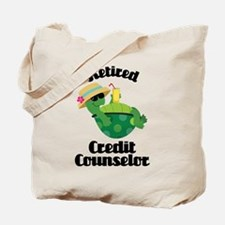 Retired Credit Counselor Tote Bag