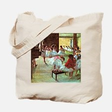 Ballet School, painting by Edgar Degas Tote Bag