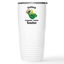 Retired Computer Science Teacher Travel Mug