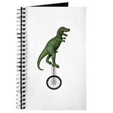 T-rex Riding Unicycle Journal