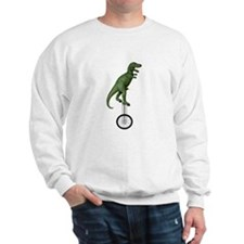 T-rex Riding Unicycle Sweater