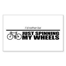 Cute Spinning wheel Decal