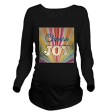 Choose Joy Long Sleeve Maternity T-Shirt