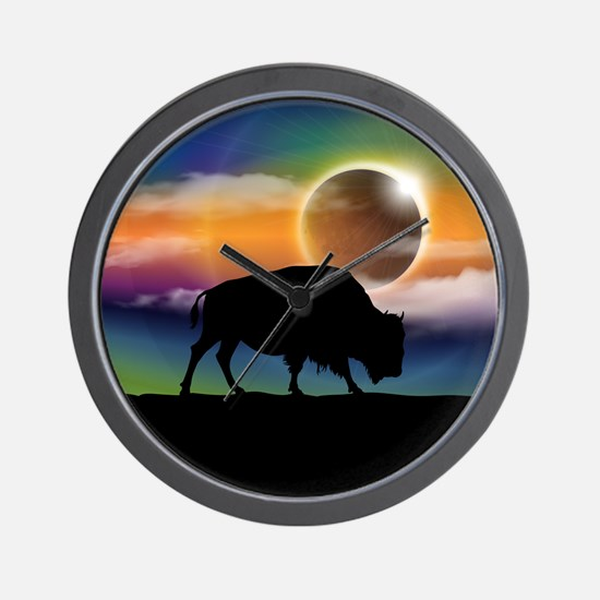Buffalo Eclipse Wall Clock