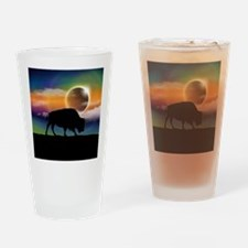 Buffalo Eclipse Drinking Glass