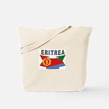 Eritrea flag ribbon Tote Bag