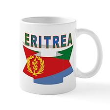 Eritrea flag ribbon Mug