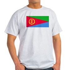 Eritrea National flag Ash Grey T-Shirt