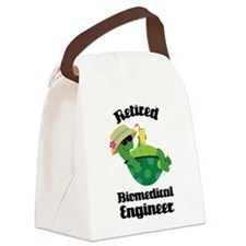 Retired Biomedical Engineer Canvas Lunch Bag