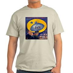 War...Invisible Ash Grey T-Shirt
