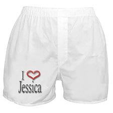 I Heart Jessica Boxer Shorts