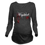 bleedingWantedGirl copy.png Long Sleeve Maternity