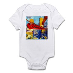 Chicago's New Monorail Infant Bodysuit
