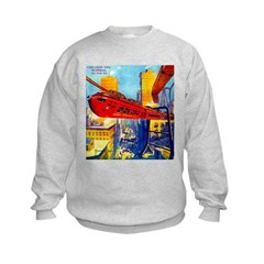 Chicago's New Monorail Sweatshirt