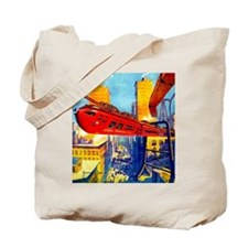 Chicago's New Monorail Tote Bag