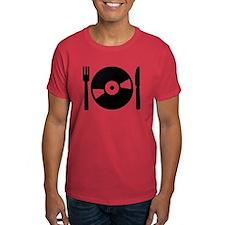 Vinyl DJ menu T-Shirt