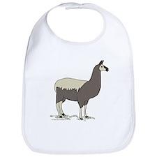 Larry the Llama Bib