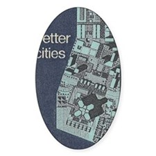City Stamp Decal