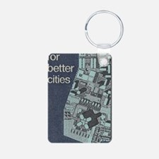 City Stamp Keychains