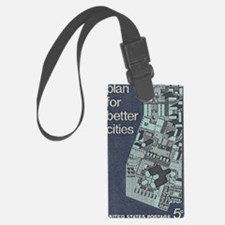 City Stamp Luggage Tag