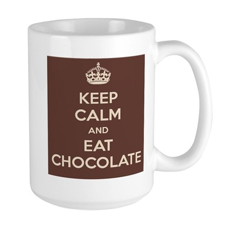 Eat Chocolate Mug (white) Mugs