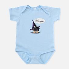 ByCatiaCho Yorkie Halloween Infant Bodysuit