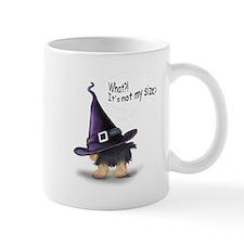 ByCatiaCho Yorkie Halloween Mug