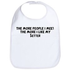Setter: people I meet Bib