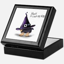 ByCatiaCho Yorkie Halloween Keepsake Box