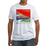 Electric Flyer  Fitted T-Shirt