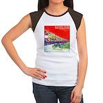 Electric Flyer  Women's Cap Sleeve T-Shirt
