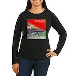 Electric Flyer Women's Long Sleeve Dark T-Shirt
