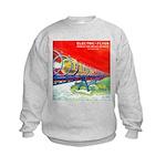 Electric Flyer  Kids Sweatshirt