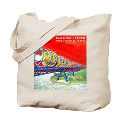 Electric Flyer Tote Bag