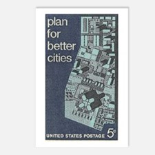 City Stamp Postcards (Package of 8)