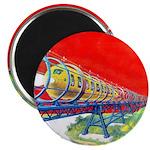 Electric Flyer Magnet