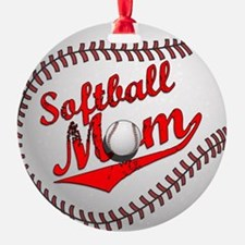 Softball Mom Ornament