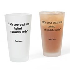 Beautiful smile Drinking Glass