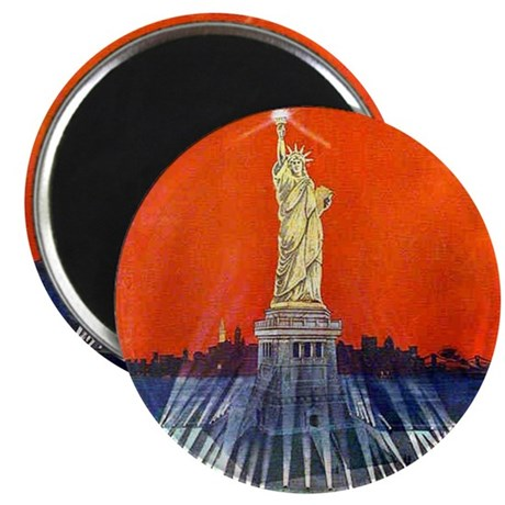 "Electric Liberty 2.25"" Magnet (100 pack)"