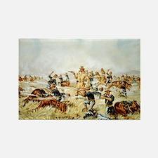 Custer Massacre at Big Horn Magnets