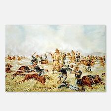 Custer Massacre at Big Horn Postcards (Package of