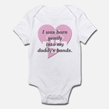 Daddy's Hands Infant Bodysuit