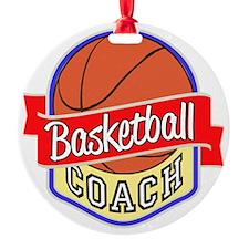Basketball Coach Ornament
