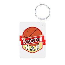 Basketball Dad Keychains
