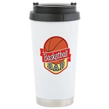 Basketball Dad Travel Mug