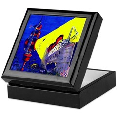 Electric Submarine Camera Keepsake Box