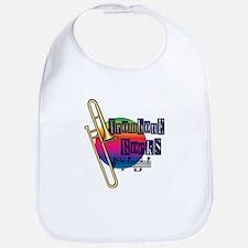 Trombone Rocks Bib