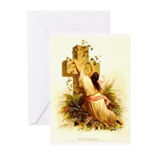 Cute Religious cross Greeting Cards (Pk of 10)