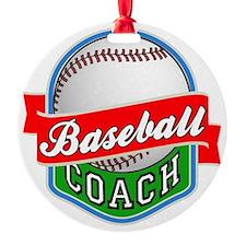Baseball Coach Ornament