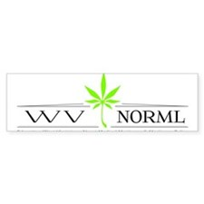 WVNORML Bumper Bumper Sticker